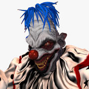 Killer Clown 3d model