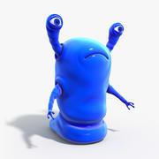 Alien Worm Paean 3d model