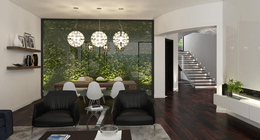 Modern Living Room Kitchen 3d Model 79 Max Fbx Free3d