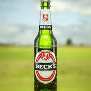Beer Bottle Becks 3d model