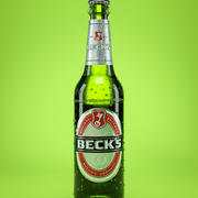 Beer Bottle Becks 3d model