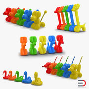 Collezione Balloon Animals 2 3d model