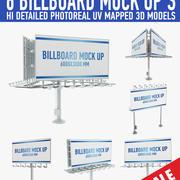 Billboards (3) 3d model