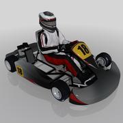 卡丁车 3d model