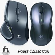 Logitech Wireless Mouse Collection 3d model