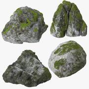 Boulders 3d model