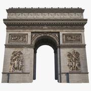 Arc De Triomphe HD 3d model