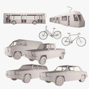 Simply Transport SET 01 3d model