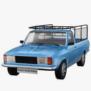 Pick-up Hillman Hunter 3d model