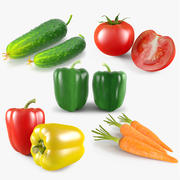Vegetable Collection 3d model