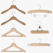 Hanger Kleren Collectie 3d model