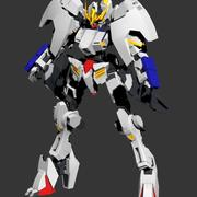 Hi-Res Barbatos Gundam 3d model