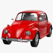 Volkswagen Beetle Classic modelo 3d