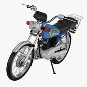 혼다 CG 125 3d model