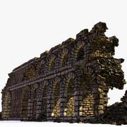 Ruina del antiguo arco modelo 3d