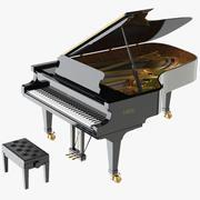 Piano Fazioli F212 3d model