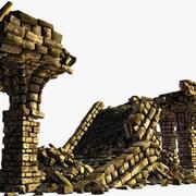 Ancient Bridge Ruins 3d model