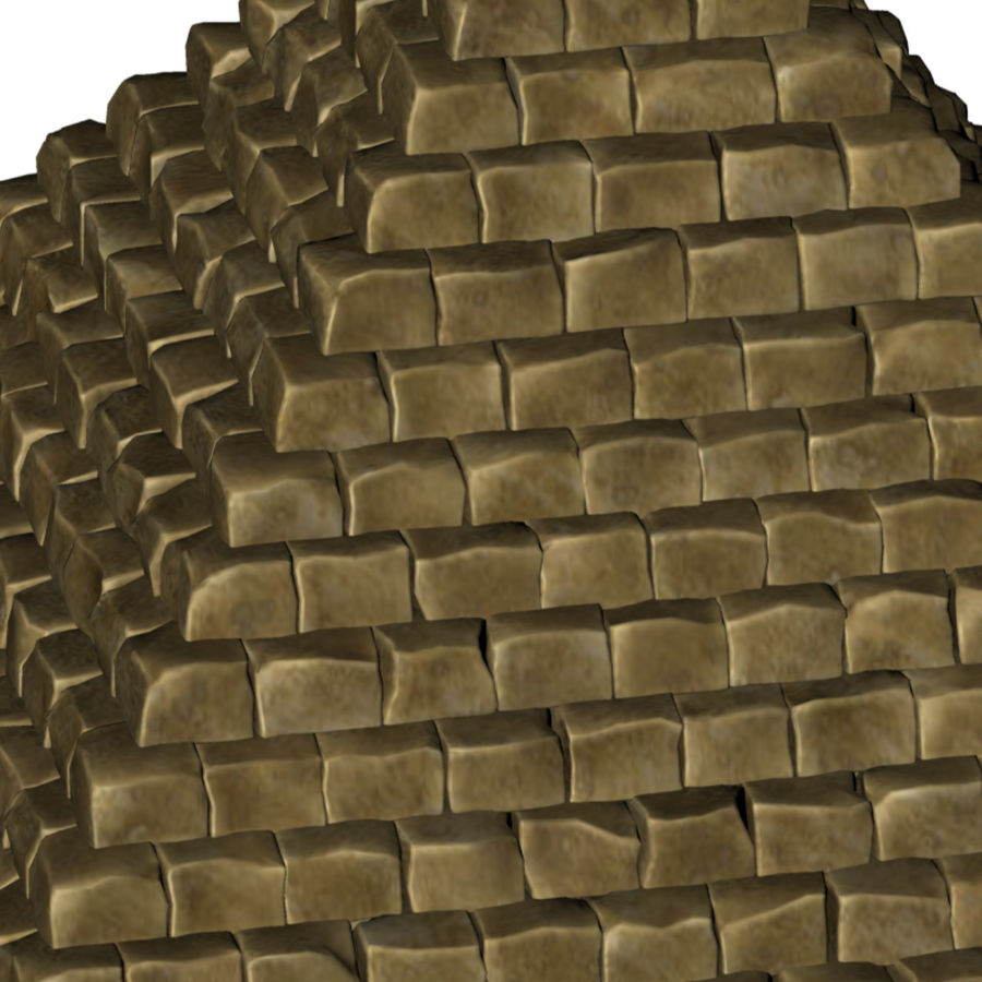 Pyramid royalty-free 3d model - Preview no. 7