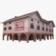 Eski Tıp Merkezi 3d model