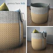 PoterryBarn-Basket 3d model