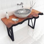 SLAB wash basin 3d model