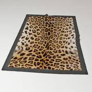 Leopardo do tapete 3d model