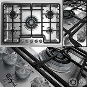 Hob by Whirlpool AKM 487 IX 3d model
