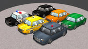 Cartoon Cars Vol 2 3d model