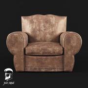 чердак кресло 3d model