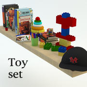 leksaker set 3d model