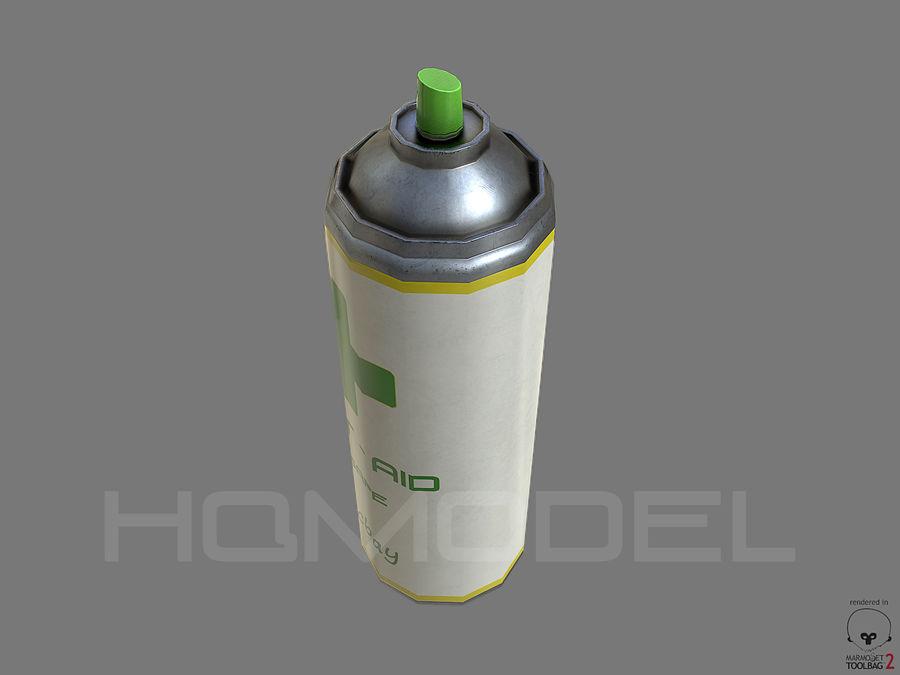 Erste-Hilfe-Spray Gesundheit PBR royalty-free 3d model - Preview no. 5