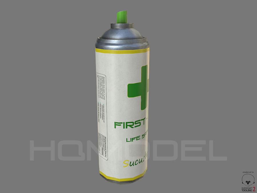 Erste-Hilfe-Spray Gesundheit PBR royalty-free 3d model - Preview no. 3