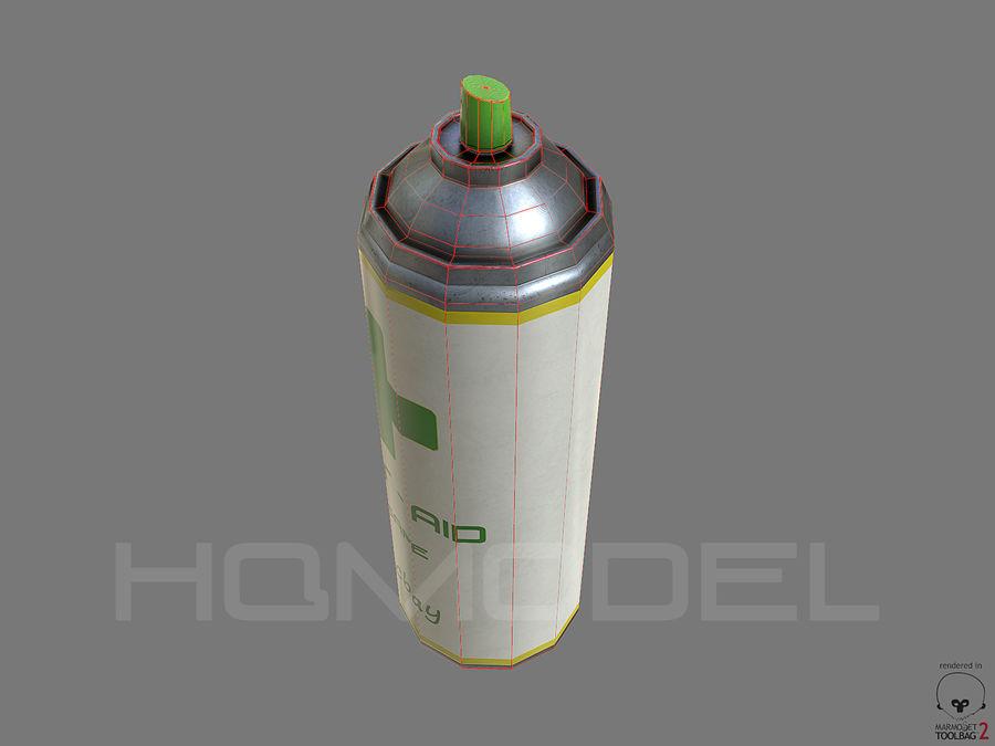 Erste-Hilfe-Spray Gesundheit PBR royalty-free 3d model - Preview no. 6