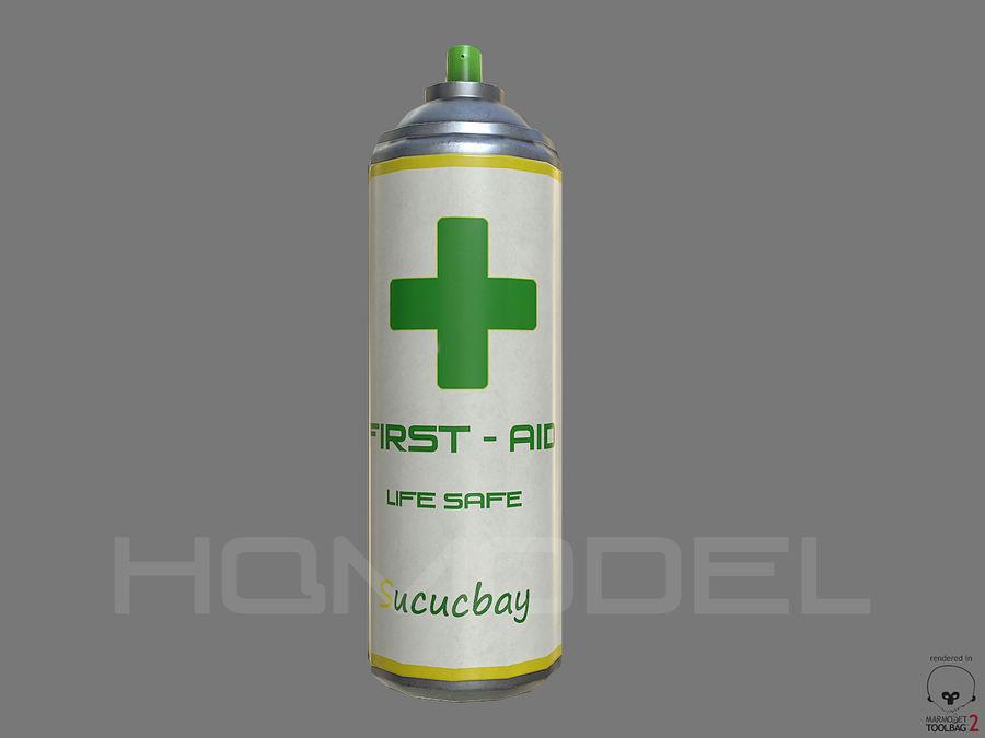 Erste-Hilfe-Spray Gesundheit PBR royalty-free 3d model - Preview no. 1