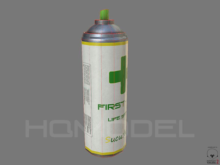 Erste-Hilfe-Spray Gesundheit PBR royalty-free 3d model - Preview no. 4
