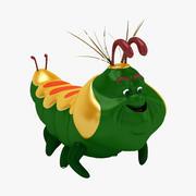 Toy_inchworm 3d model