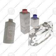 Medic bottles 3d model