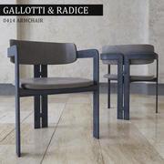Silla Gallotti Radice modelo 3d