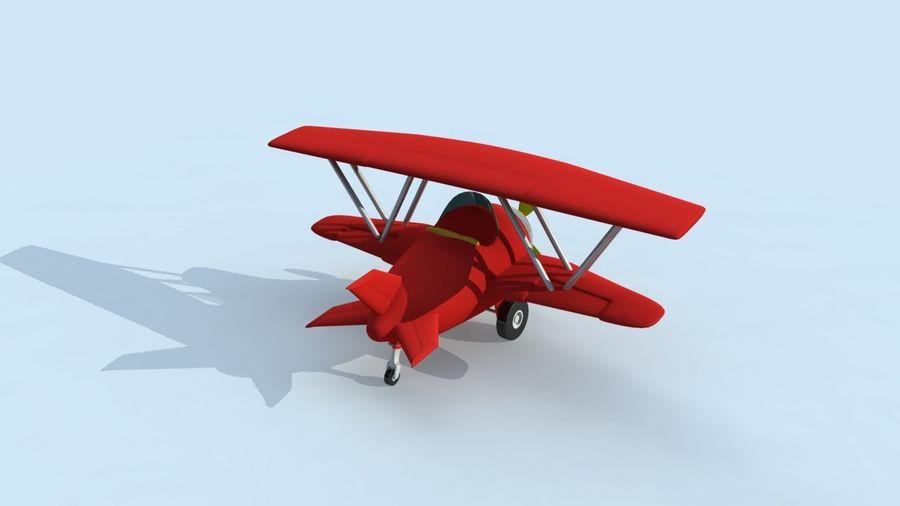 Avion De Dessin Anime Modele 3d 10 Fbx Free3d