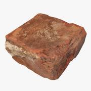 Broken Brick 3d model