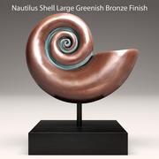 shell nautilus 3d model