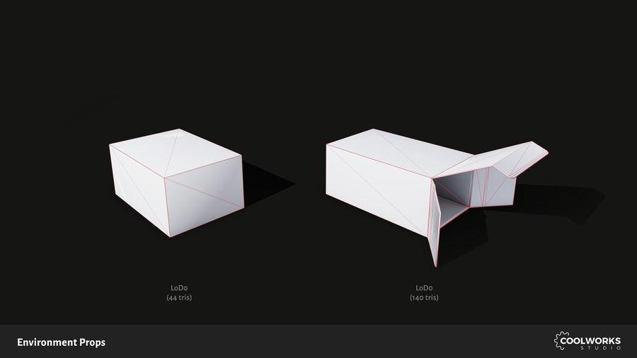 Milieu rekwisieten royalty-free 3d model - Preview no. 15