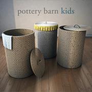 Pottery Barn-Basket-1 3d model