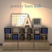 PotteryBarnKids-StorageSystem 3d model