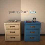 PotteryBarnKids-TuckerNightstand 3d model