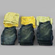 kemis och jeans 3d model