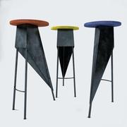 Набор стульев в образе Пьера Жаннере 3d model