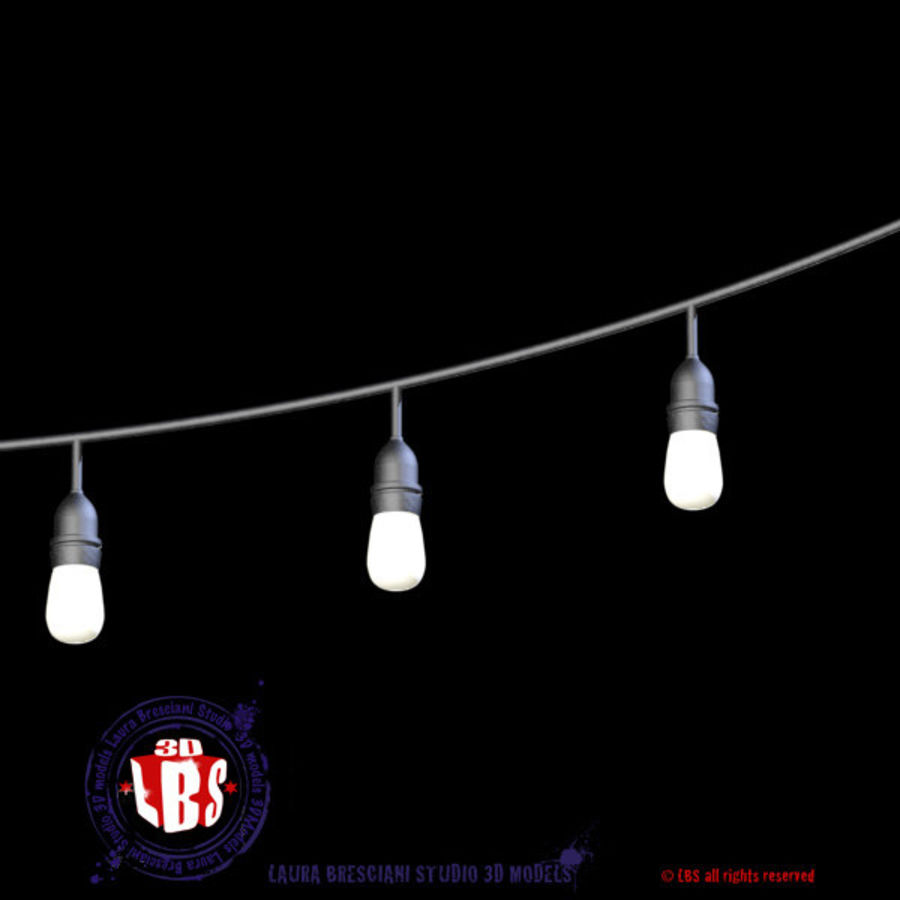 String lights royalty-free 3d model - Preview no. 6