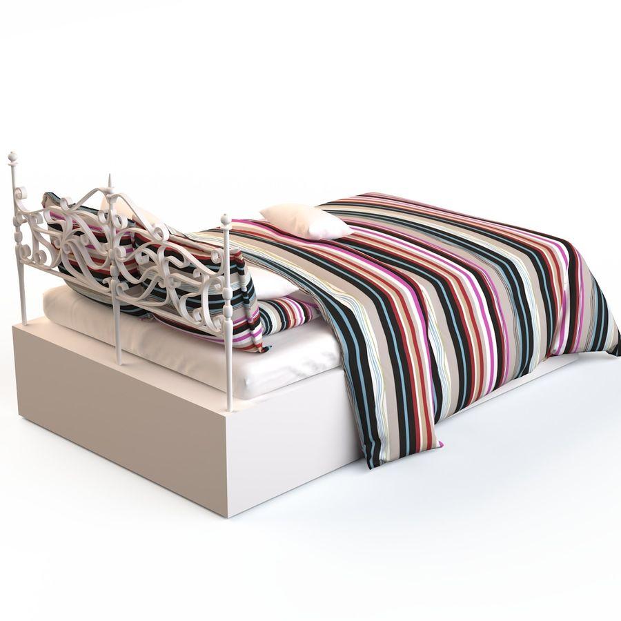 침대 19 royalty-free 3d model - Preview no. 21