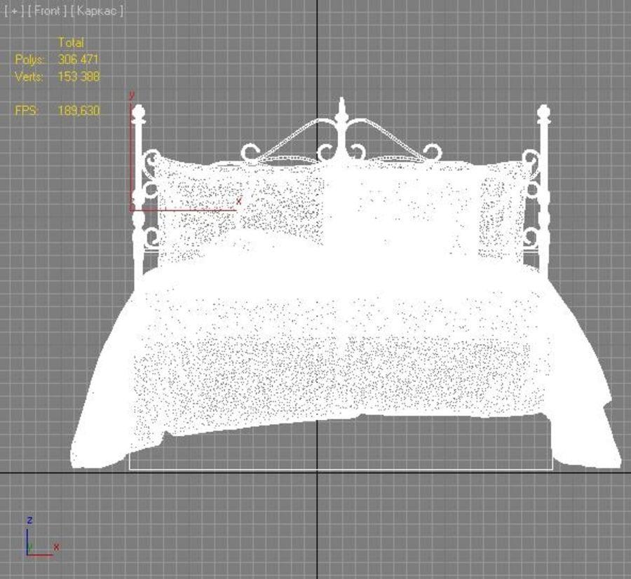 침대 19 royalty-free 3d model - Preview no. 5